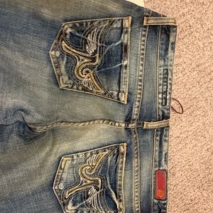 New Adriano Goldschmied hippie bleached jeans 27